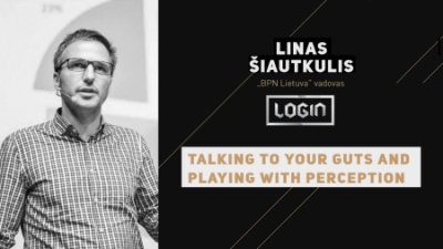 login 2016: talking to your guts and playing with perception