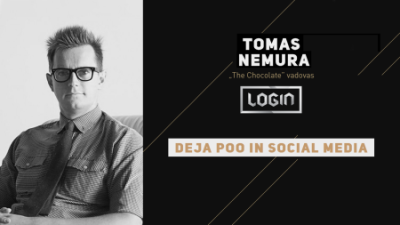 deja poo in social media